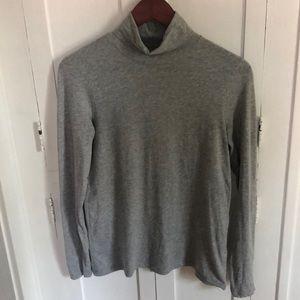 Pima cotton turtleneck shirt